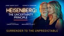 Heisenberg: the Uncertainty PrincipleTickets