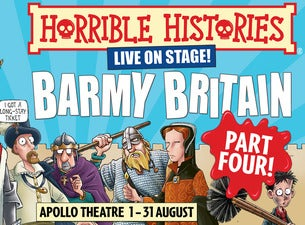 Horrible Histories - Barmy Britain Four