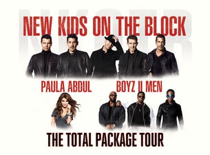The Total Package Tour: NKOTB with Paula Abdul And Boyz II Men Tickets