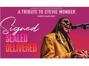 Signed, Sealed, Delivered - a Tribute To Stevie Wonder Tickets