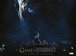 Game of Thrones Live Concert ExperienceTickets