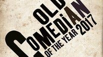 Old Comedian of the Year Tickets