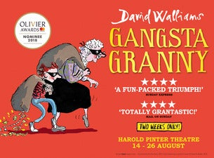 Gangsta Granny Tickets