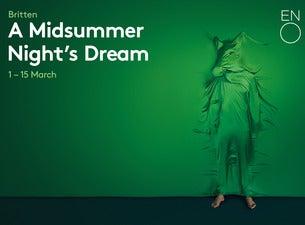 A Midsummer Night's Dream - English National OperaTickets