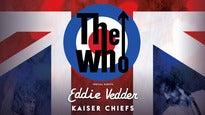 The Who, Eddie Vedder & Kaiser Chiefs