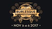 World Burlesque GamesTickets