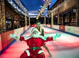 Camden Market's Christmas Ice Rink