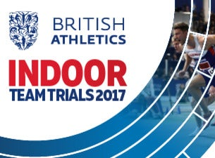 British Athletics Indoor Team Trials Tickets