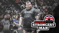 Giants Live Worlds Strongest Man Arena Tour: Britain's Strongest Man