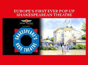 Shakespeare's Rose Theatre YorkTickets