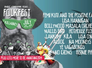 Folkfest Killarney Tickets