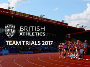 British Athletics Team Trials Tickets