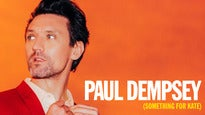More Info AboutPaul Dempsey (Something For Kate)
