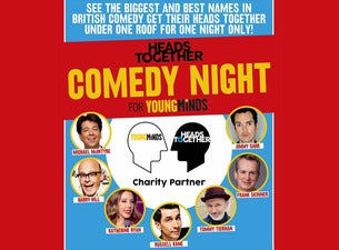 Heads Together Comedy Night for YoungMinds