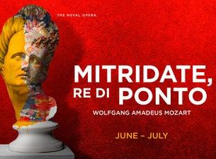Mitridate, Re Di PontoTickets