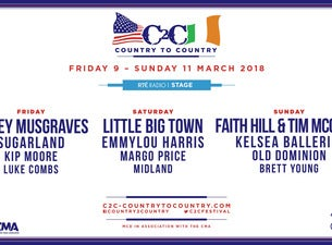 Country To CountryTickets