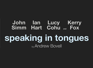 Speaking In Tongues Tickets
