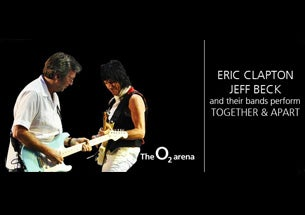 Eric Clapton and Jeff Beck Tickets
