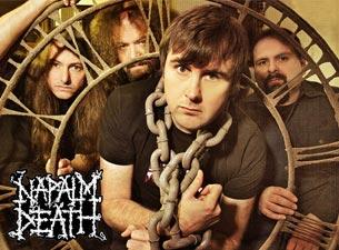 Napalm DeathTickets