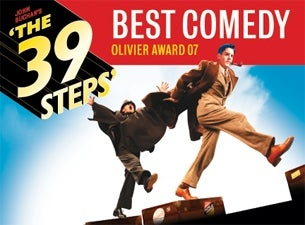 The 39 Steps (Touring) Tickets
