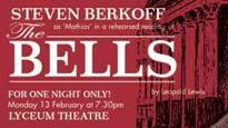Steven Berkoff in the Bells Tickets