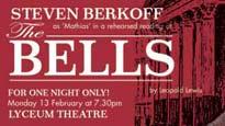 Steven Berkoff in the BellsTickets