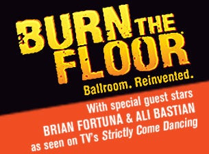 Burn the Floor - Flooplay Tickets