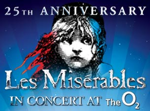 Les Miserables In Concert - the 25th AnniversaryTickets
