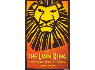 Lion King Poster Tickets