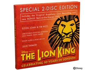 Lion King CD Tickets
