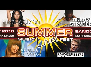 Summer Live Music Festival Tickets