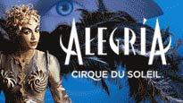 Alegria - Cirque Du SoleilTickets