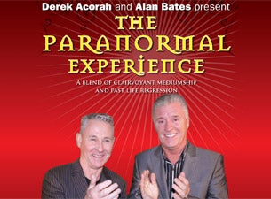 Derek Acorah & Alan Bates Present the Paranormal Experience Tickets