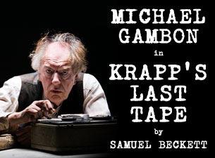 Krapps Last TapeTickets