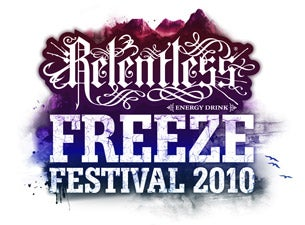 Relentless Freeze Festival 2010 Tickets