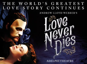 Love Never Dies Tickets