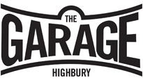 Image result for the garage london venue logo