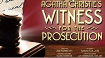 Witness for the ProsecutionTickets