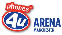 Logo for Phones 4u Arena - Manchester