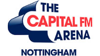 Logo for Capital FM Arena Nottingham