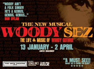 Woody Sez Tickets