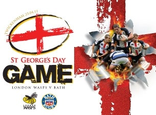 ST George's Day Game Tickets
