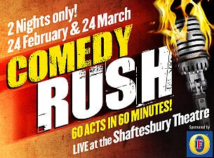 Comedy Rush Tickets