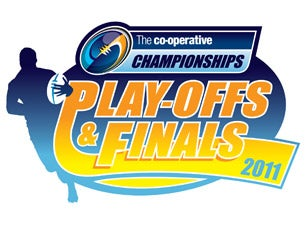Co-Operative Championship Finals Day Tickets