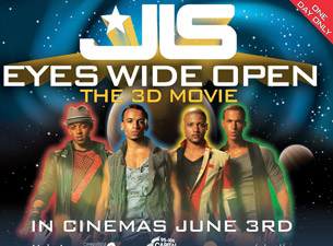 JLS Limited Edition Deluxe Poster Tickets