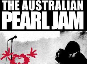 Australian Pearl JamTickets