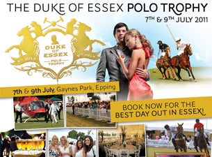 The Duke of Essex Polo Trophy Tickets