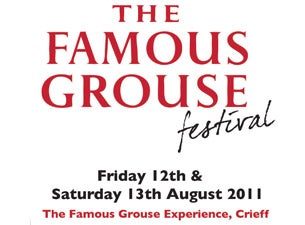 The Famous Grouse Festival Tickets