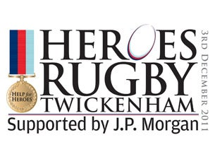 Help for Heroes Rugby ChallengeTickets