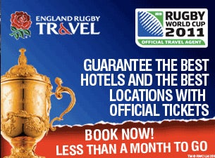 Rugby World Cup 2011 Official PackagesTickets